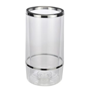 Bambelaa! Weinkühler Sektkühler Flaschenkühler doppelwandig … (Plastik, 1 Stück)