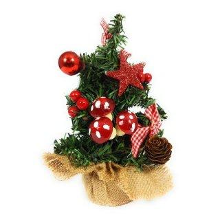 Bambelaa! Kleiner künstlicher Weihnachtsbaum 20cm