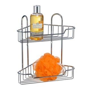 Bambelaa! Eckregal aus Metall 20x20x28cm für Bad oder Küche