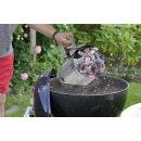 Bambelaa! Grillkohleanzünder Anzündkamin BBQ Grillanzünder Grillstarter Grill Holzkohle Ofen Anzünder Kohlestarter