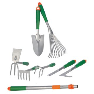 Bambelaa! Gartengeräte Gartenwerkzeug Set 8 tlg