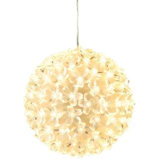 Bambelaa! LED Lichterkugel warmweiss Weihnachtsdeko ca 15 cm