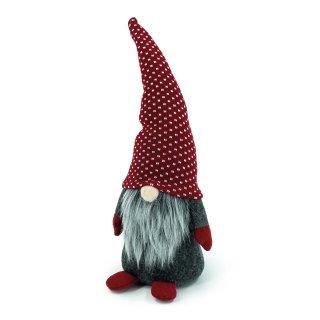Bambelaa! Wichtel mit grauem Bart und roter Mütze (H: ca. 36 cm)