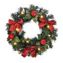 Bambelaa! Türkranz Weihnachten mit LED Beleuchtung